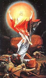 Воскресение Христа. М.Грюневальд, XVIвек