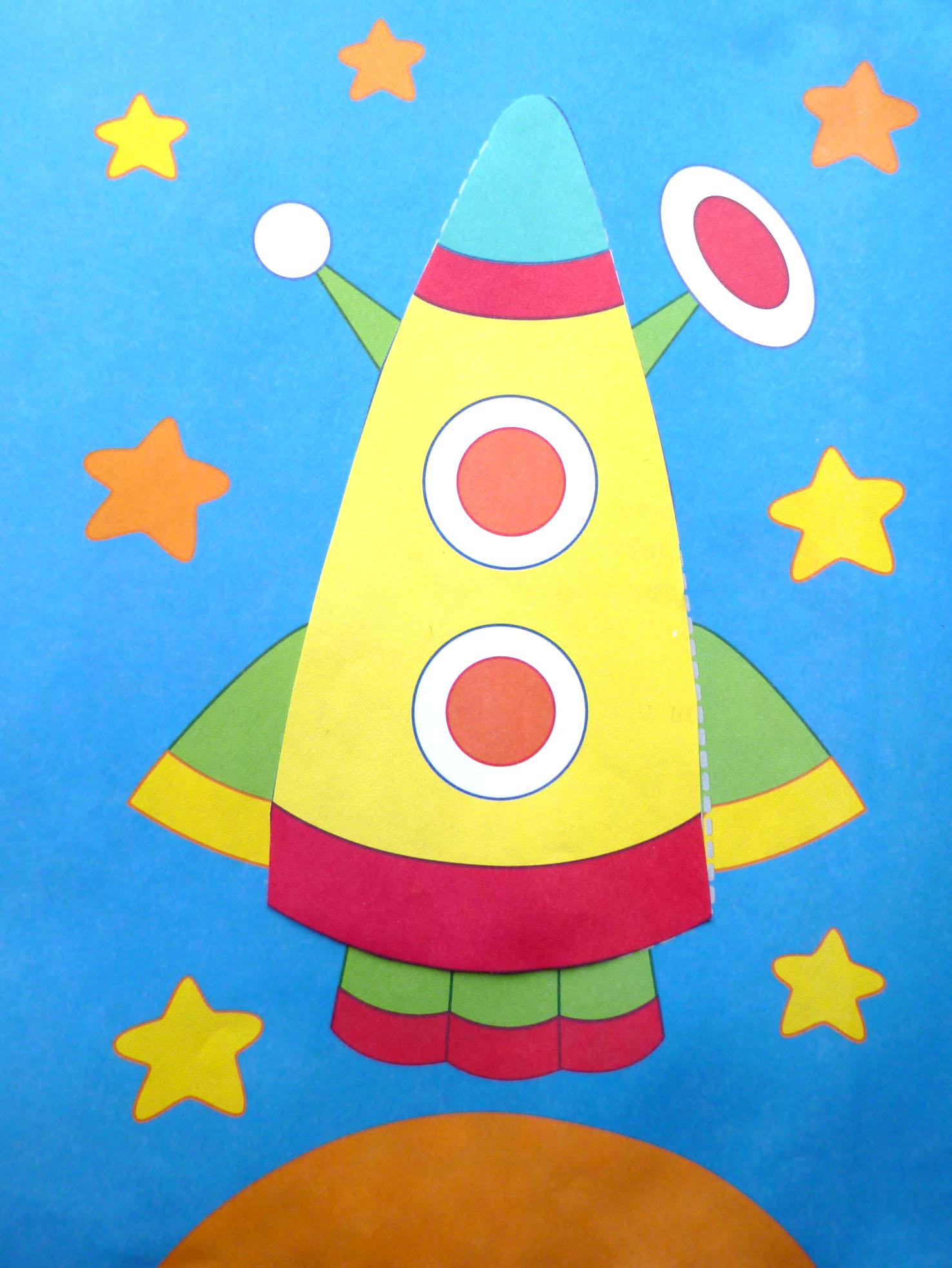 Идеи интересных поделок ко Дню Космонавтики
