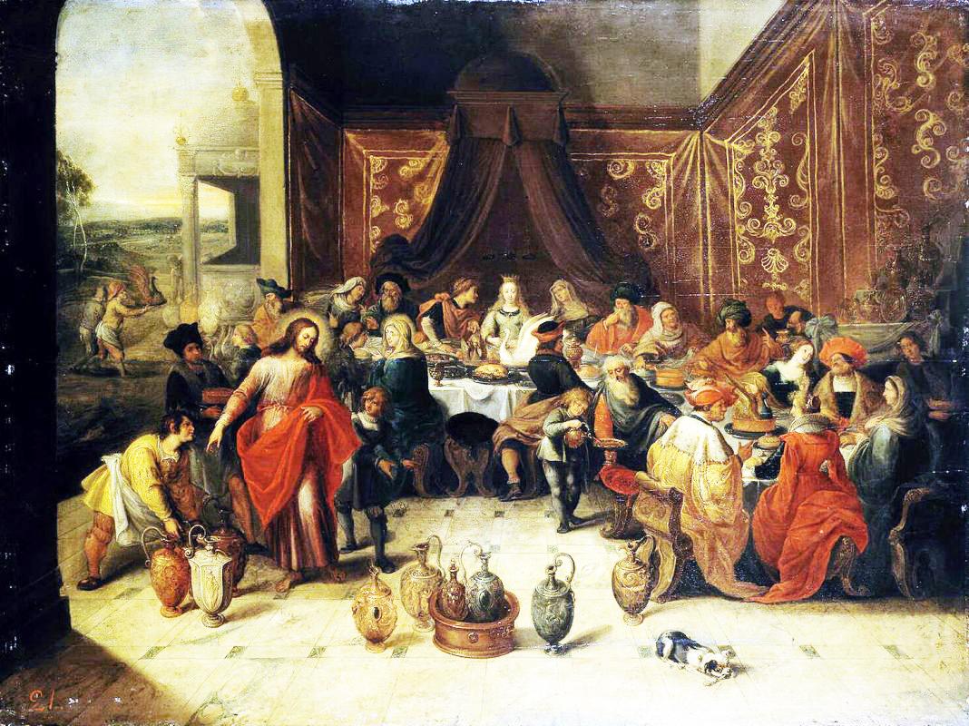 библейские сюжеты в живописи картина брак в кане галилейской